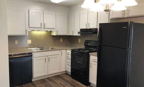 beautiful kitchen with all amenities